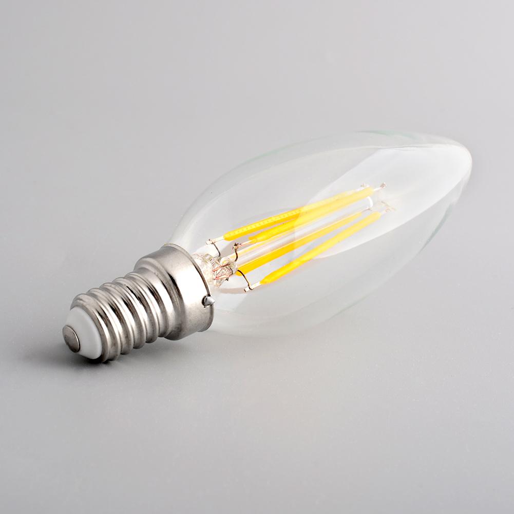Edison Style Vitange Antique E14 Spiral Candle Light Office Exhibition Lamp Artistical Decor Bulb C35(China (Mainland))