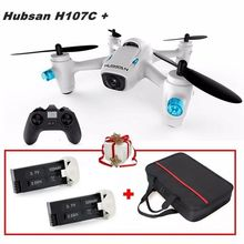 Free Shipping! Hubsan X4 Cam Plus H107C+ 2.4G w/720P Camera RC Drone+Carrying Bag+2 Batteries