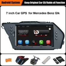 Upgraded Original Car multimedia Player GPS Navigation Suit Mercedes Benz Glk Support WiFi Bluetooth - carparts store