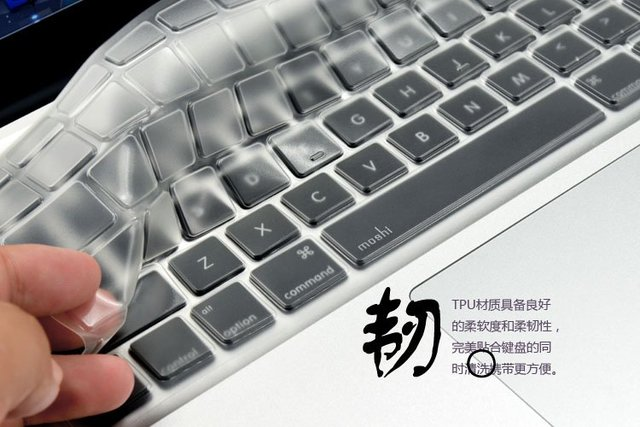 "Free shipping silicone keyboard cover protector for macbook 13"" 15"" air, for macbook air keyboard skin cover, without packing"