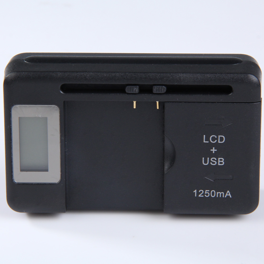 Universal LCD USB Charging Dock US Plug Battery Charger for Cell Phones