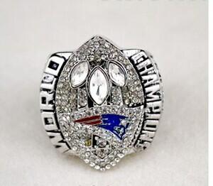 Free shipping 2008 NFL 2004 New England Patriots Super Bowl championship rings(China (Mainland))
