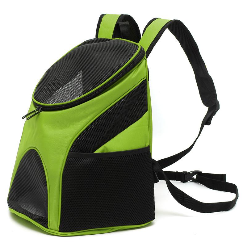 Hot Sale Best Promotion Portable Pet Dog Cat Puppy Travel Double Shoulder Backpacks Sport Travel Outdoor Pet Carrier Bag(China (Mainland))