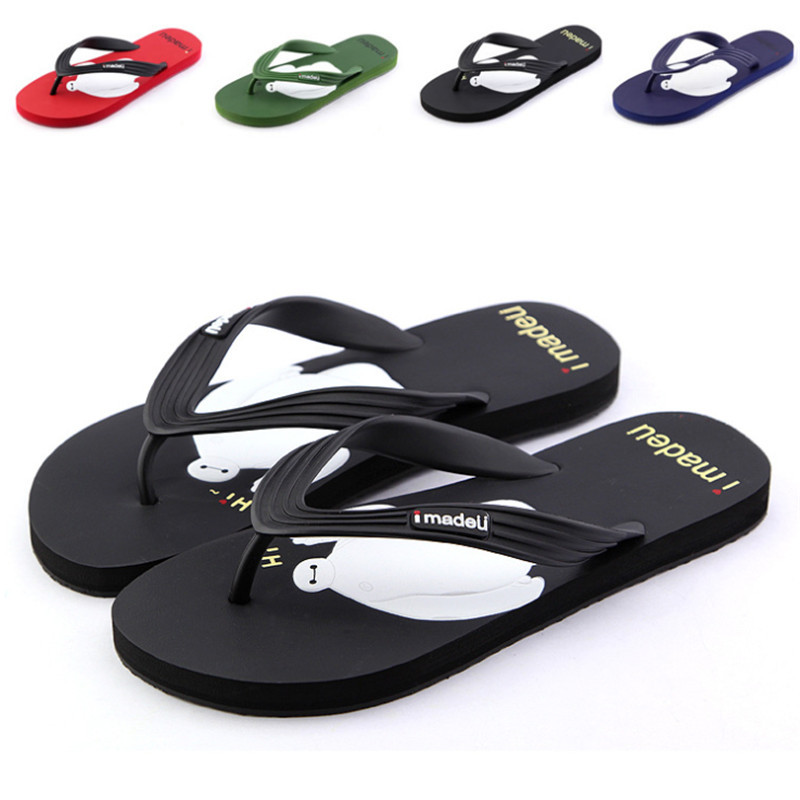 male adult summer sandals, recreational household slippers sandals flip-flops PVC couples - China's fashion boutique store
