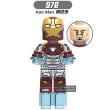 Vingadores Super Heroes Marvel Compatível legoings Infinito Guerra Thanos Gauntlet Thor homem de Ferro Homem Aranha Building Blocks Brinquedos Figuras(China)