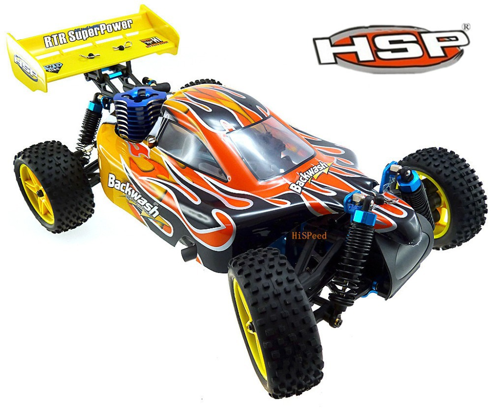 HSP 1/10 Scale Models Nitro Gas Power 4wd Rc Car Toy Two Speed Off Road Buggy 94166 High Speed Hobby Rc Buggy Remote Control Car(China (Mainland))