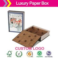 wholesale imported cowhide paper boxes Drawer carton accessories case gift box Tea handmade boxes soap phone packing box