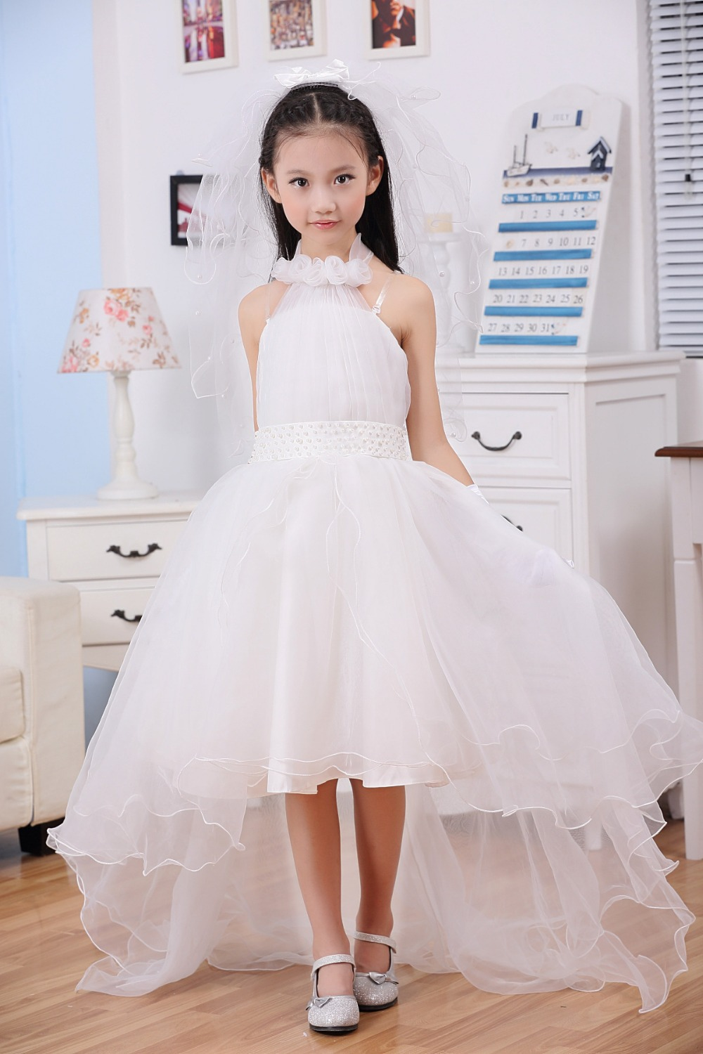 White Dresses For Kids - Dress Xy