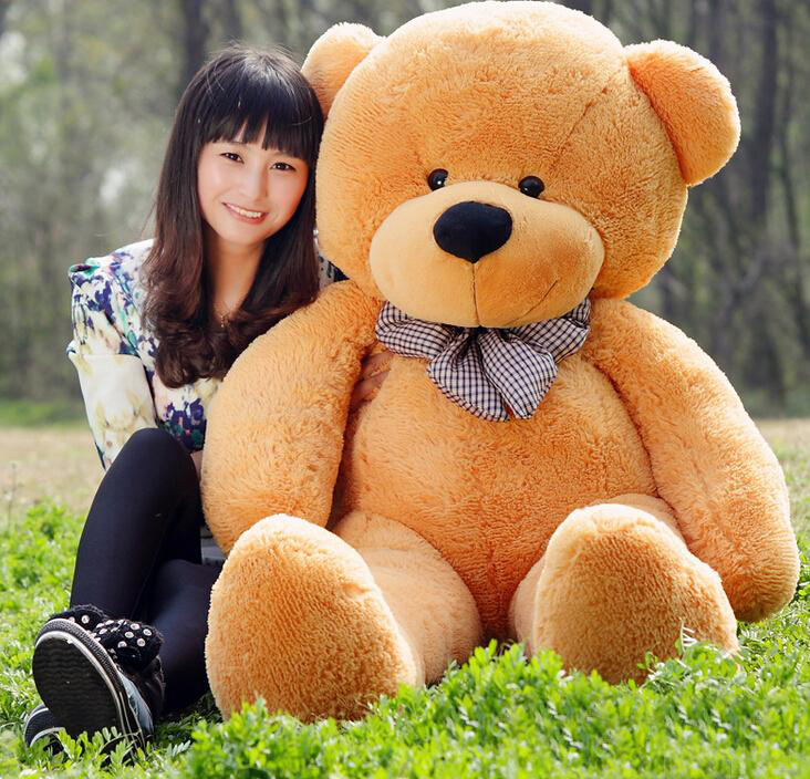 lowest price giant teddy bear 180cm 5 9 feet teddy bear pp cotton gifts stuffed bears plush toys. Black Bedroom Furniture Sets. Home Design Ideas