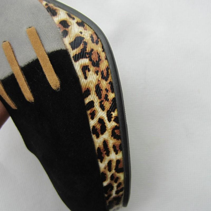 L-1 big size US11  fashion sexy color matching for women pumps ladies shoes high heel shoes black colors