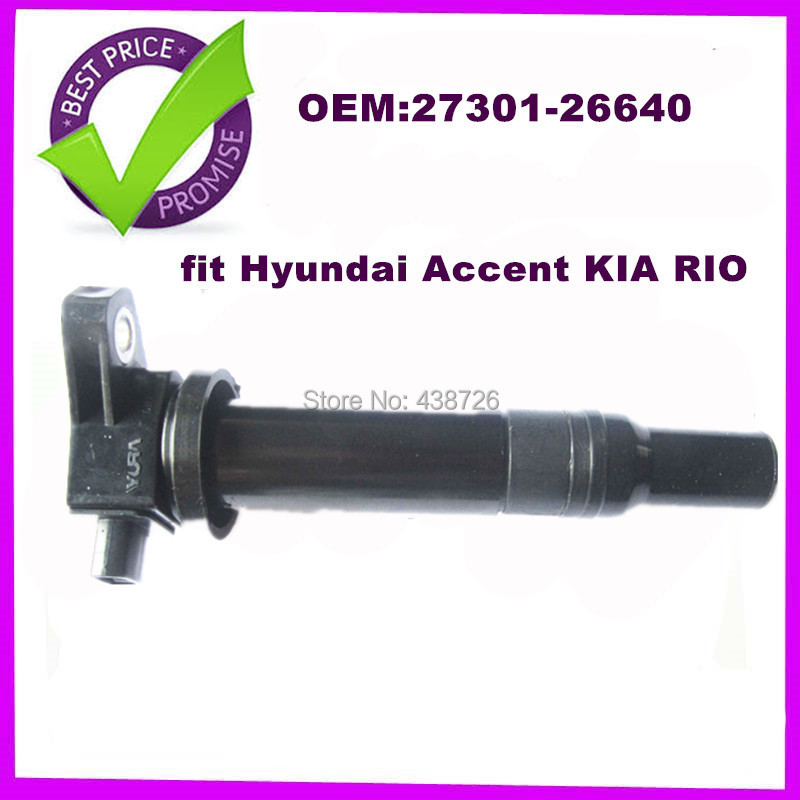 OEM 27301-26640 2730126640 FOR Hyundai Accent KIA RIO Ignition coil PACK BRAND NEW(China (Mainland))
