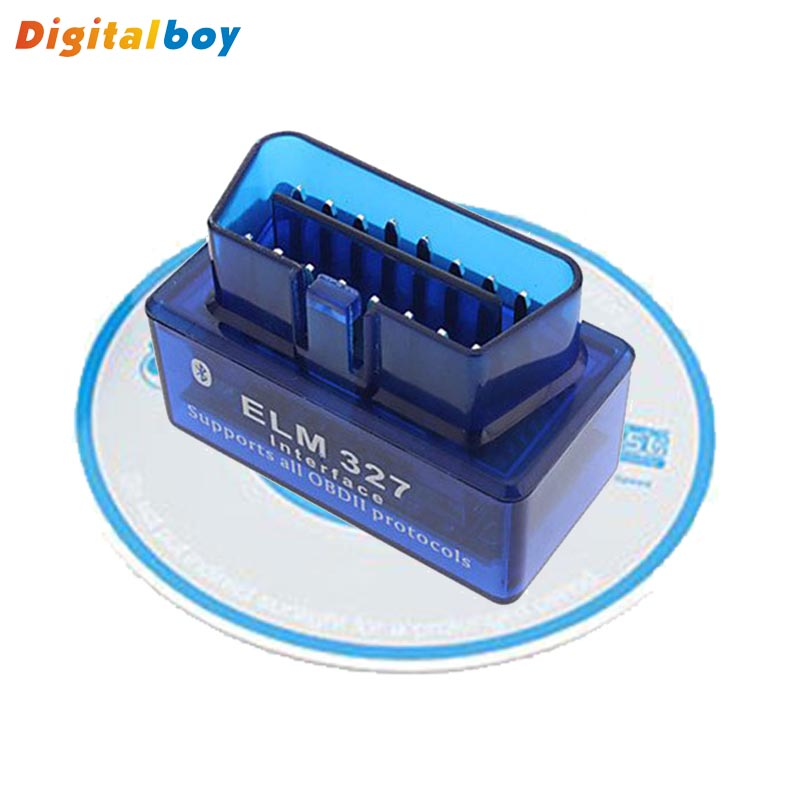 Car Diagnostic Scan Tool OBD2 OBDII ELM327 Mini Bluetooth V2.1 Car Diagnostic Tester Trip Computer Tracking Code(China (Mainland))