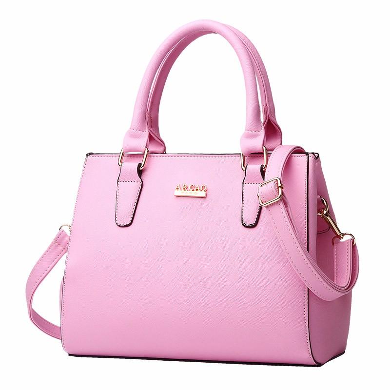 Gorgeous Large Crossbody Bag Occident Style Chic Elegant Women Succinct Bag Top PU Leather Ladies Handbag Ladies Shoulder Bag