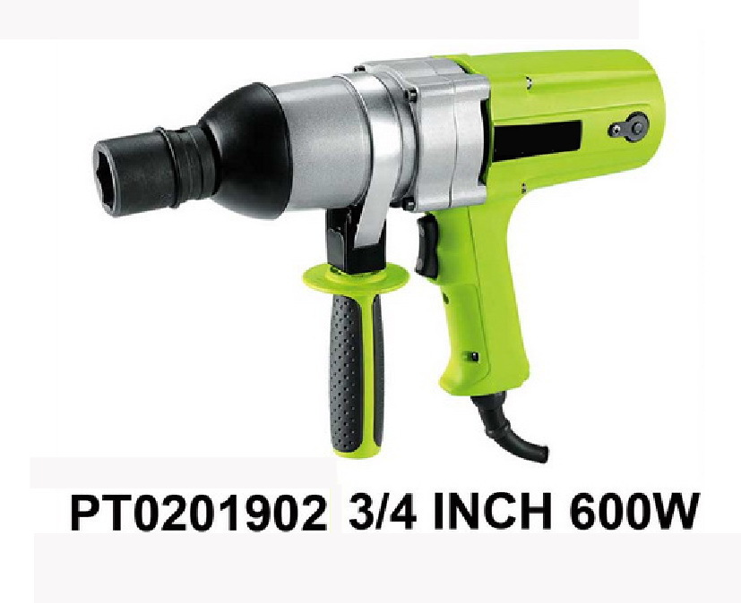 """3/4 inch electric impact wrench 600W 590N.M electric torque wrench 3/4"""" electric spanner M18-M24(China (Mainland))"""