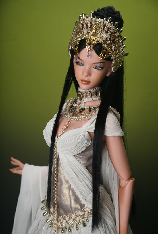 1/3th scale 65cm BJD nude doll DIY Make up,Dress up.SD doll girl Epidia Queen of waterfalls .not included Apparel and wig<br><br>Aliexpress