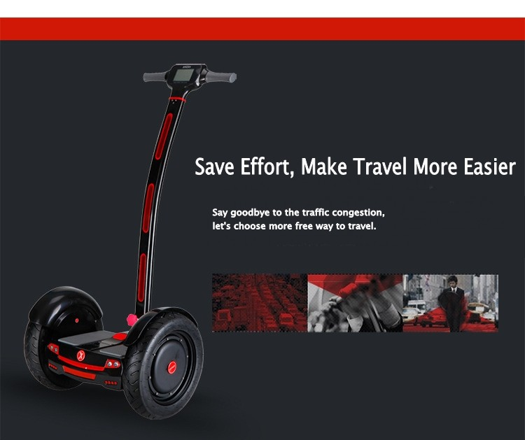 15 Inch High Tech Materials two-Wheel Self balancing scooter transporter Vehicle off road Motocross Hoverboard with LED Display 16