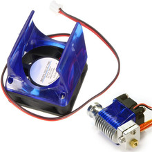 Brand New Arrival High Quality 3D Printer Accessories E3D V5 / V6 Brushless DC Fan Cooler With Cover Case