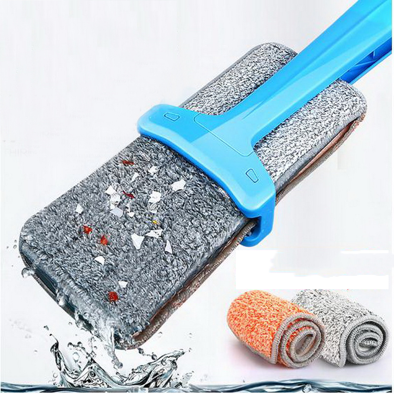 341207/Household flat mop/Easy to clean/Using PP material/durable/plus Thick cloth design/360 degrees can be rotated(China (Mainland))