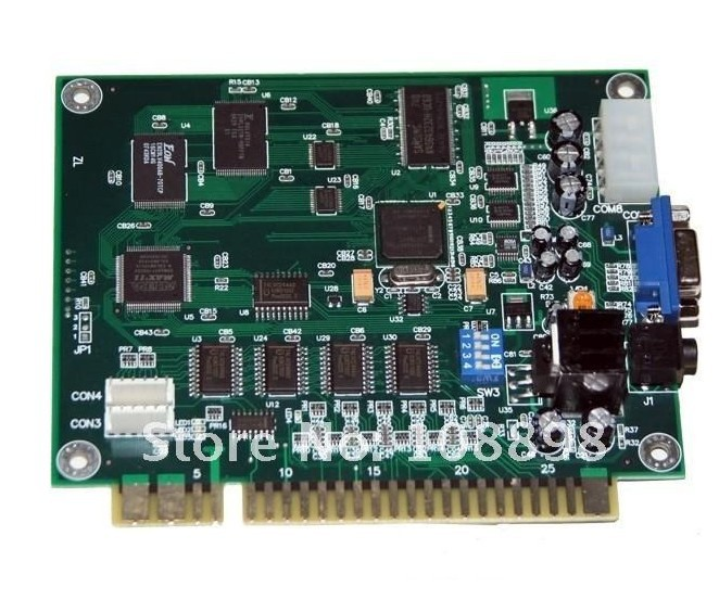 Гаджет  1 pcs of Classical 60 in 1 Game PCB for Cocktail Arcade Machine or Up Right arcade game machine/game machine PCB None Спорт и развлечения