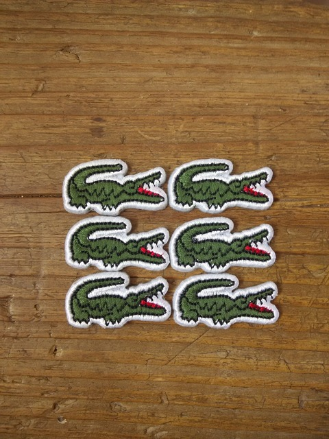 iron on patch patches Crocodile Alligator  Applique Badge (60pcs a lot) badges Embroidery