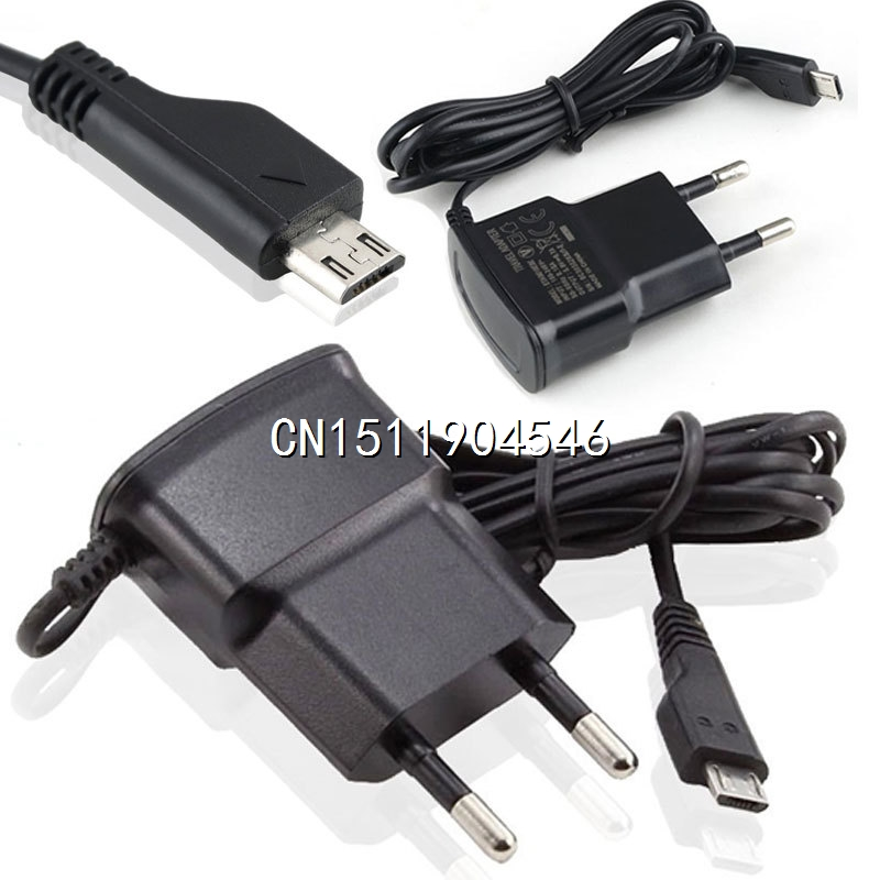 Universal EU Plug Micro USB Charger AC Power Adaptor for SamSung Cell Phone Accessories Y50 MHM320(China (Mainland))