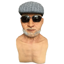 Buy Hyper Realistic Silicone Mas Old man Halloween Masks Face mask fx masks human masks for $490.00 in AliExpress store