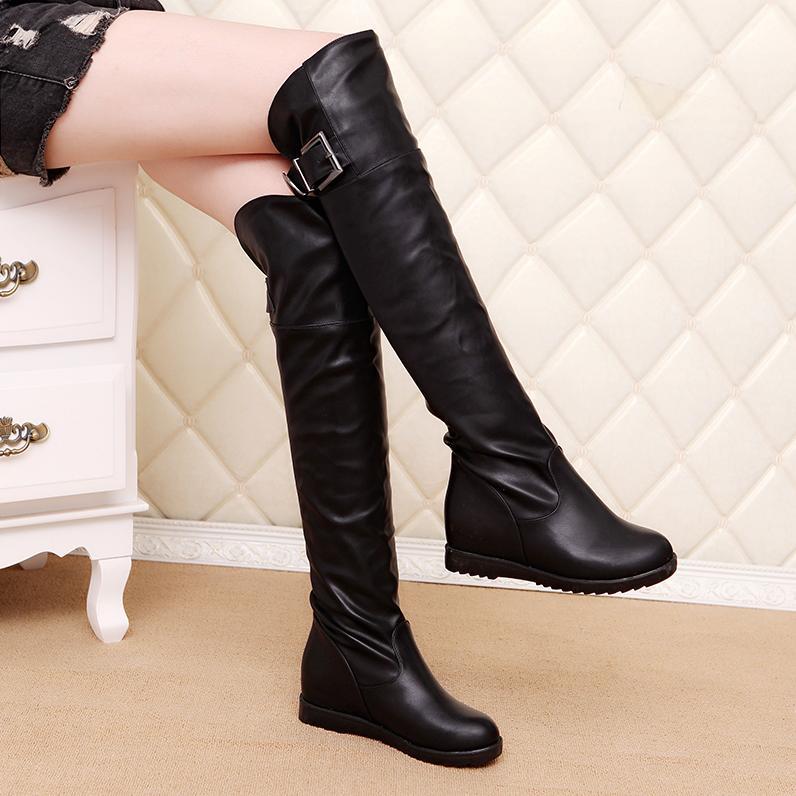 Online Get Cheap Flat Thigh High Boots Size 12 -Aliexpress.com