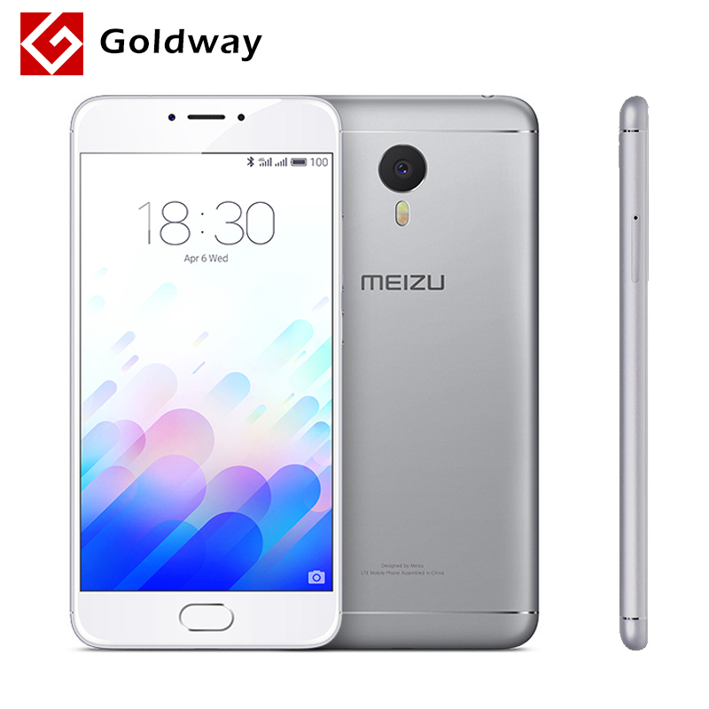"Original Meizu M3 Note Mobile Phone MTK Helio P10 Octa Core 5.5"" 1920x1080P 2GB RAM 16GB ROM Fingerprint ID 4100mAh Battery(Hong Kong)"