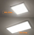 Integrated ceiling keel led ceiling panel light 300x300 300x600 600x600 60x60 300x1200 cold white warm white