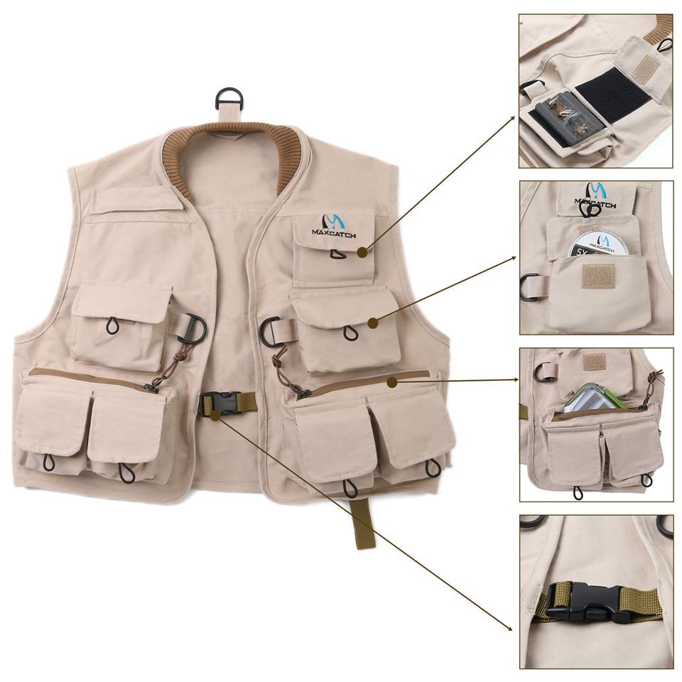 Popular fishing khaki buy cheap fishing khaki lots from for Kids fishing vest