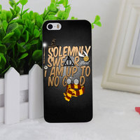 A1332 Harry Potter Quote Up To No Good Transparent Hard Thin Case Cover For Apple iPhone 4 4S 5 5S SE 5C 6 6S 6Plus 6s Plus