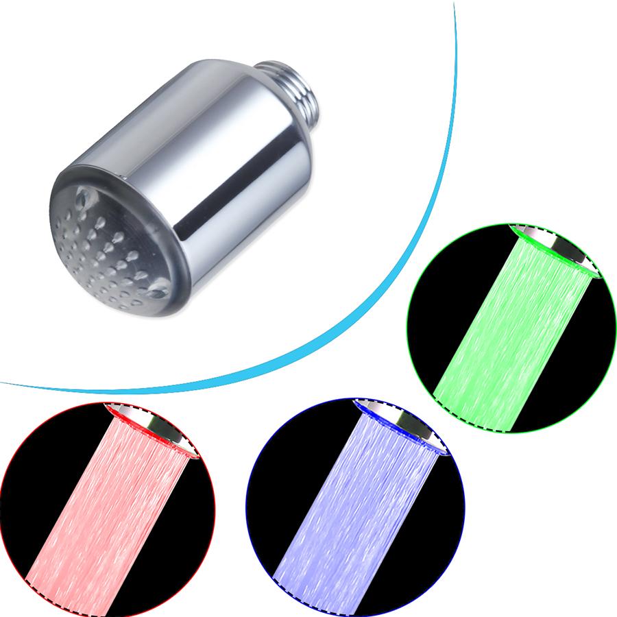 LED Different Colour Bathroom Kitchen Faucet Accessories Clever Little Cute Kitchen Faucet Spouts(China (Mainland))