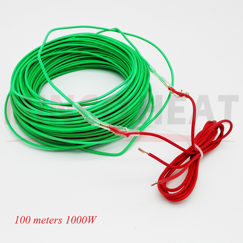 1KW 100 m/roll Vegetable, Flower, Plants Soil Hotline Greenhouse Warm Cable(China (Mainland))