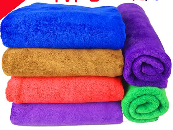 40*30cm microfiber towel car microfibre towel car wash car cleaning 5pcs/lot Blue Violet Brown Red Green free shipping(China (Mainland))
