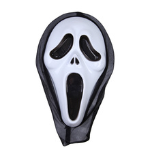 BS#S Halloween Costume Party Long Face Very Scary Horror Terrible Mask Gag Toys with Hood(China (Mainland))