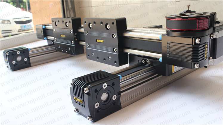Belt driven linear slide Rail belt drive guideway Professional Manufacturer of Actuator System Axis Positioning(China (Mainland))
