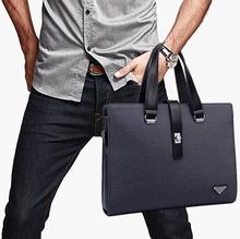 2015 men's fashion briefcases business men's handbag(China (Mainland))