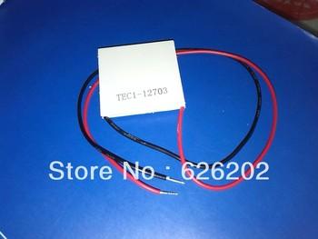 5PCS/LOT TEC1-12703 12703 TEC Thermoelectric Cooler Peltier 12V New of semiconductor refrigeration TEC1 12703
