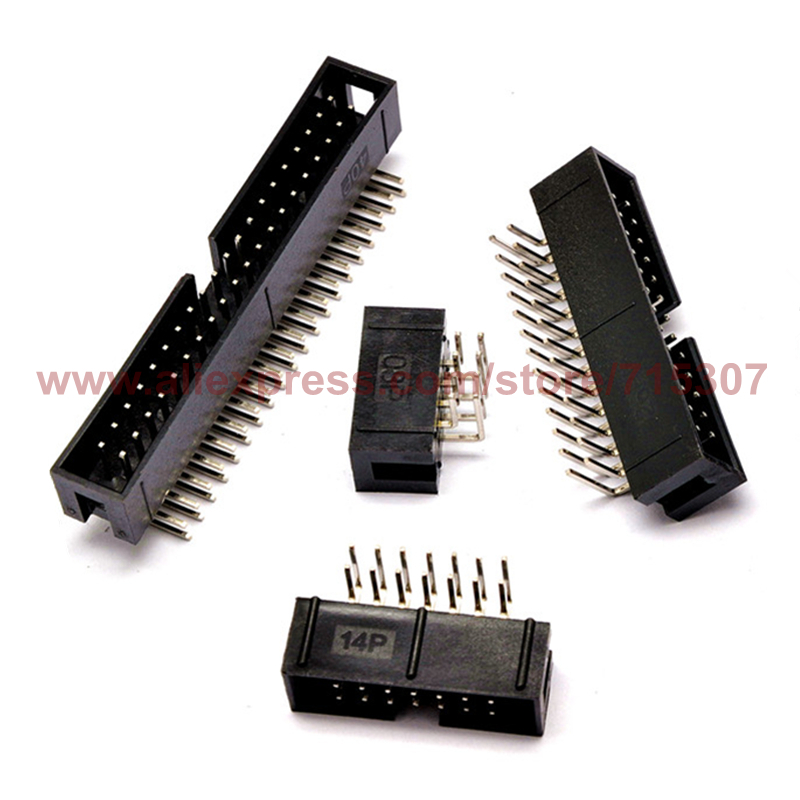 Разъем EEAMALL 20 idc 2,54 idc 10P idc 2 x 5 , idc connector 2.54mm 10P
