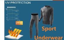 C&C Market.Free Shipping.warm sets man's winter spring underwear.sports Brand Thermal underwear.cool outdoor,training(China (Mainland))