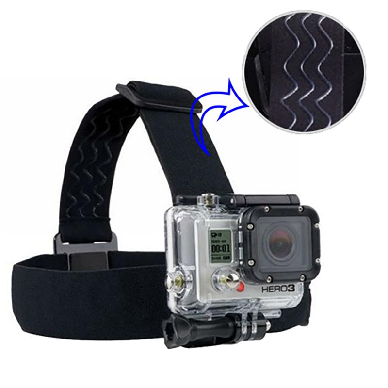 GoPro Accessories Set Harness Adjustable Elastic Chest Belt Head Stap Mount for Go pro Hero 4