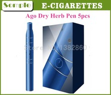 2014 Newest Dry Herb Vaporizer Pen Ago G5 Atomizer E-Cigarette Starter Kit Quit Smoking Health Electronic Cigarette Kit