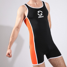 Fashion Brand Patchwork Men Bodybuilding&Fitness Sports Training Suit/Swimwear/One Piece Conjoined Body Suit