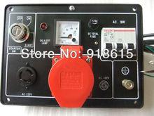 KAMA type KM186FA KM186F 5KW three phase diesel  generator parts,Control Panel Assy,  accessories.(China (Mainland))