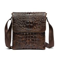 2016 New Men Bag Shoulder Crossbody Bag Men Genuine Cowhide Leather Bags Fashion Business High Quality Men Office Messenger Bags