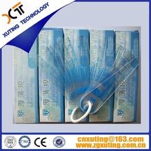 Venta al por mayor precio maquinaria cnc herramientas de medición 19 unids/set 0.05 – 2.0 mm plástico de espesores Gage