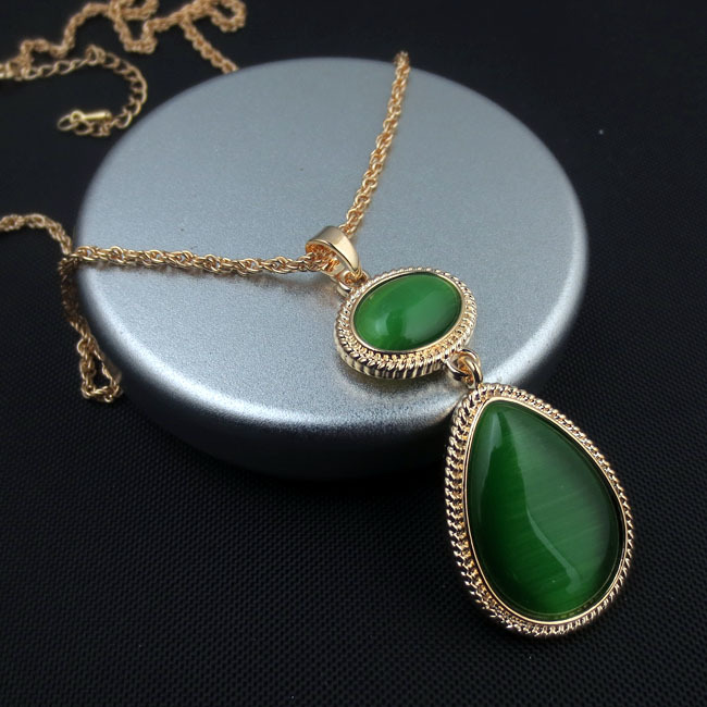 Cat S Eye Stone Necklaces