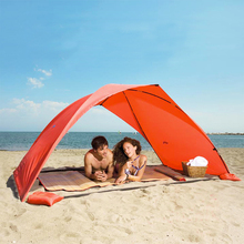 Portable Beach Tent Sun Shade Canopy Fishing Shelter Tents Awning Sunshade Summer Beach Tent UV Protection(China (Mainland))