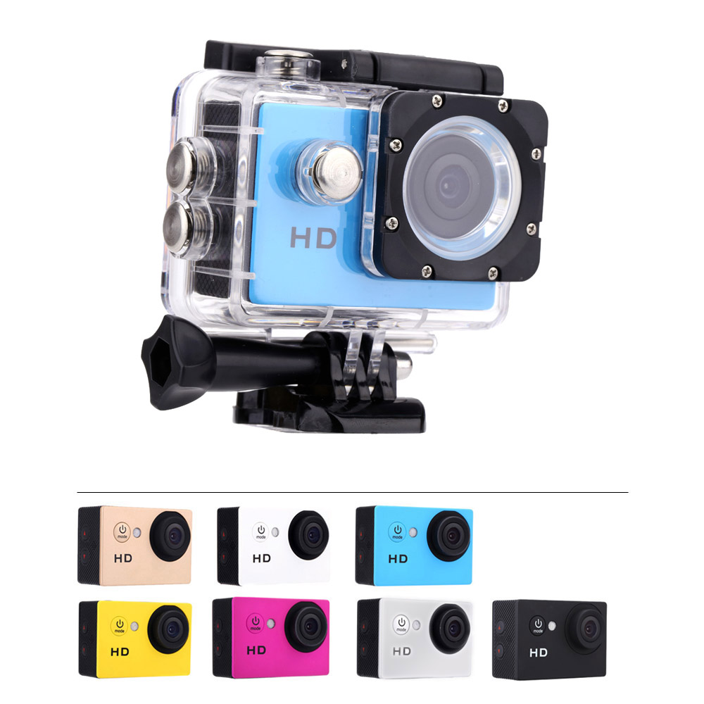 Hot Sale A7 Camera HD 720P Sport DV Action Camera 2 0 LCD 90 Degree Wide