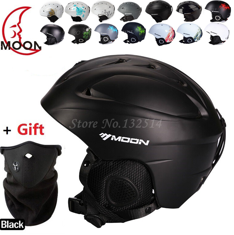 New brand Ski helmet Ultralight and Integrally-molded professional Snowboard helmet Unisex Skateboard helmet Multi Color(China (Mainland))